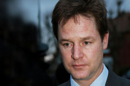 The emptiness of Nick Clegg